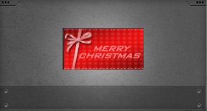 红色圣诞名片(7天)