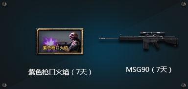 紫色枪口火焰(7天) MSG90(7天)